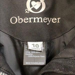 Obermeyer Jackets & Coats - Obermeyer Black Winter Coat Women's Size 10